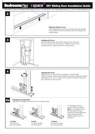 How To Adjust Closet Doors Stanley Sliding Closet Door Tracks Closet Doors