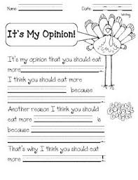 how to get students excited about opinion writing for kindergarten