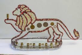 elephant menorah menorahs crafted one of a judaica the chosen time