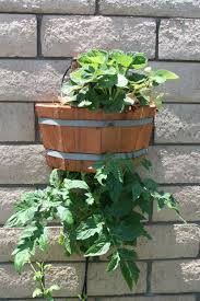 how to build an attractive space saving upside down planter 10