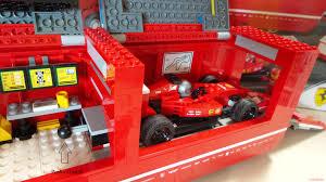 lego ferrari truck lego speed champions 75913 u2013 f14 t u0026 scuderia ferrari truck
