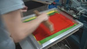 Diy Screen Print India | how to screen print air dry ink plastic poster board signs