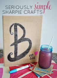 easy burlap home decor diy burlap monogram canvas