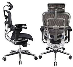 black friday computer chair amazon com ergohuman high back swivel chair with headrest black
