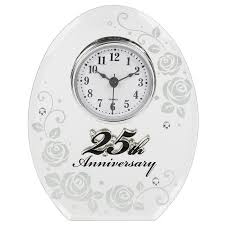 wedding clocks gifts 50th wedding anniversary mirror and clock gift by shudehill