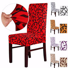 elegant spandex elastic stretch chair seat cover computer dining
