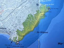 Benidorm Spain Map by Here And There And Everywhere Return To The Sierra Helada A K A