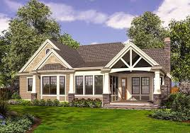 traditional craftsman house plans plan 23383jd rambler in multiple versions rambler house plans