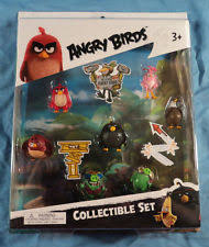 angry birds the movie 7 mini figure collectible set red stella