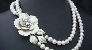 pearl necklace white images Classic beauty of white pearl necklace white pearl jewelry jpg