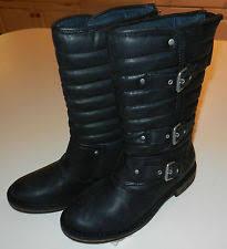 ugg womens tatum boots chestnut ugg australia buckle motorcycle boots for ebay