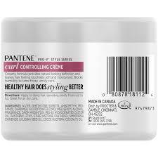 Controlling Definition by Pantene Curl Perfection Controlling Curl Cream 7 6 Fl Oz Walmart Com
