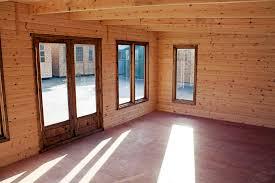 Log Cabin Interior Doors Log Cabins Cornwall