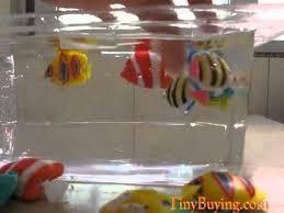 50pcs plastic artificial fish ornament decoration for aquarium