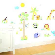 stickers jungle chambre bébé stickers muraux pour chambre stickers muraux chambre enfant stickers