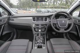 peugeot 508 interior 2013 image gallery 2011 peugeot 508 malaysia