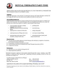 Therapist Resume Careers