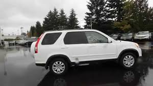 honda crv white 2006 honda cr v se white 6c045784 seattle renton youtube