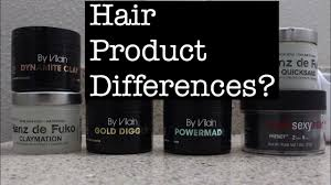 black label hair products hair products clay wax paste and pomades whats the difference