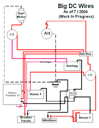 battery and charging system wiring diagram