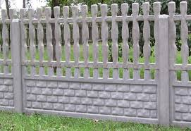 Garden Fence Types - awesome picture of concrete fence designs perfect homes interior
