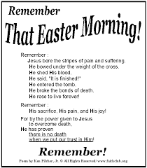 free easter speeches a collection of kids religious easter poems and rhymes from