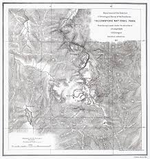Map Of Yellowstone National Park File Yellowstone 1871b Jpg Wikipedia