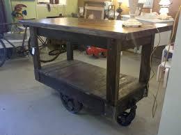 Kitchen Carts Islands Kitchen Island Cart Industrial Uotsh Regarding Kitchen Island