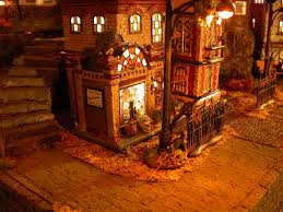 snow village halloween halloween showcase displays