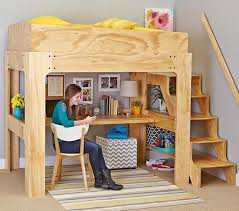 Free Plans For Loft Beds With Desk by 213 Best Dorm Loft Beds Images On Pinterest 3 4 Beds Home And