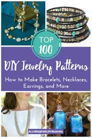 diy beaded pendant necklace images Top 100 diy jewelry patterns how to make bracelets necklaces png