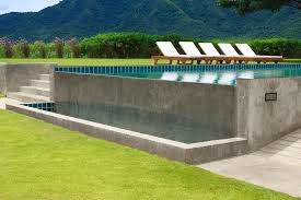 Outdoor Swimming Pool by Outdoor Swimming Pool Photograph By Atiketta Sangasaeng