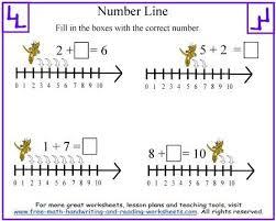 11 best number line worksheets images on pinterest number lines
