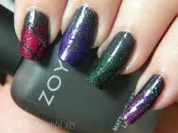 c is for copy cat with zoya matte velvet nail art