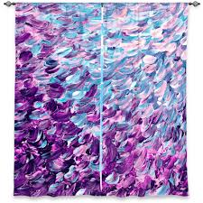 frosted feathers splash purple serenity blue cream art ombre