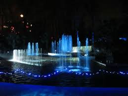 atlanta botanical garden lights cascades gardens at abg s garden lights holiday nights picture of