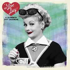 lucy ball 2017 i love lucy 16 month wall calendar lucystore com lucy for