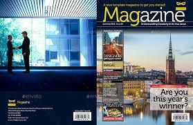 freelance layout majalah magazine template indesign 40 page layout v1 by boxedcreative