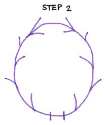 how to draw antler laurels in 4 easy steps lindsaybraman com