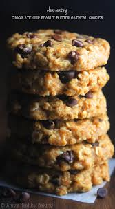 chocolate chip peanut butter oatmeal cookies recipe video