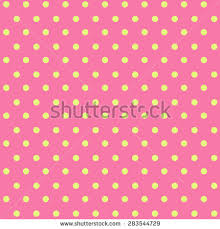 yellow with pink polka dots pink dot stock images royalty free images vectors shutterstock