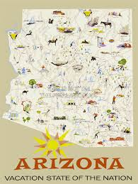 Maps Of Arizona Maps Update 18851573 Arizona Travel Map U2013 Arizona Travel