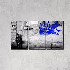 new classical home decor painting wall graffiti banksy canvas art