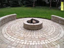 Circular Paver Patio Image Detail For Pavers Laid In A Circular Pattern To Form A