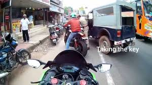 police jeep kerala kerala police trying to kill harley guy and harassing the bikers