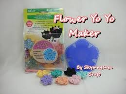 flower shape yo yo maker by clover how to youtube
