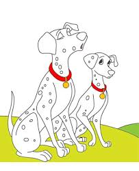 101 dalmatians 6 coloring pages kids color print
