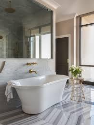 Bathtub In A Shower Alyssa Rosenheck Bathtub In Front Of A Curved Marble Wall