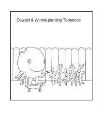 oswald the octopus coloring pages coloring home