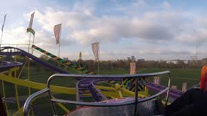 spinning coaster on ride hyde park winter 2016
